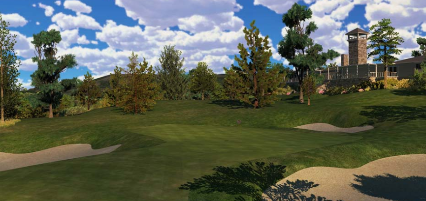 Castle Pines Golf Club Screenshot